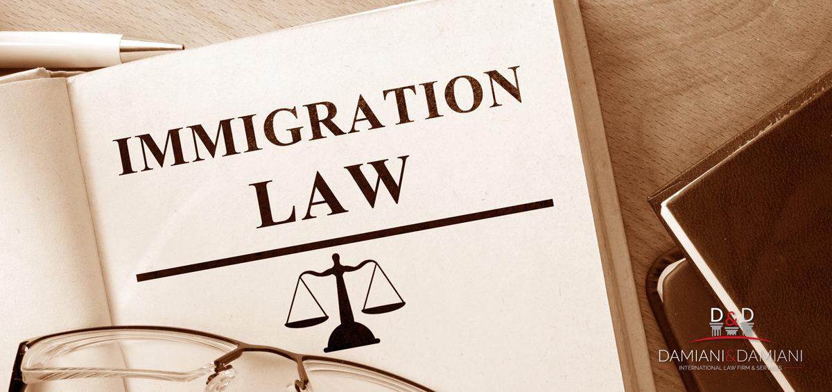 Diritto dell'Immigrazione: i servizi di Damiani&Damiani International Law Firm
